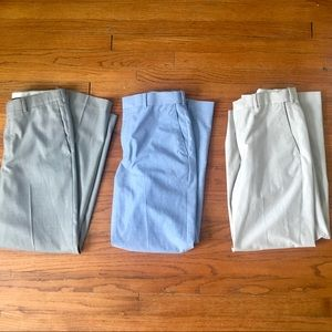 Set of 3! Men's Dress Pants / slacks Size 32x30